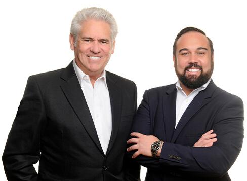 Christian and Ronald Monahan